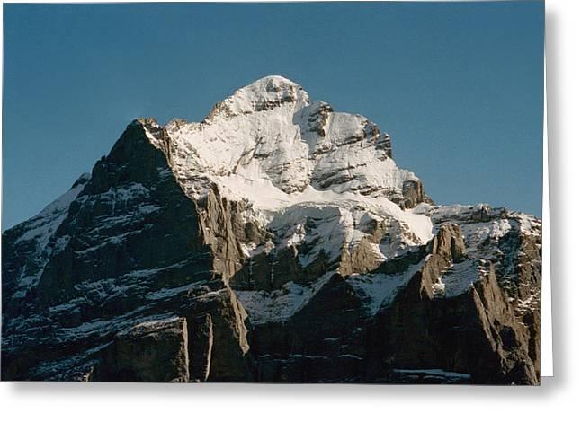Europe Greeting Cards - Alps Greeting Card by Marcio Faustino