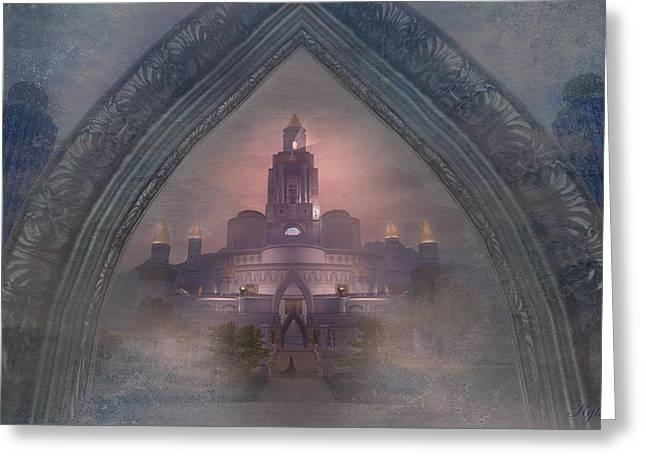Kylie Sabra Greeting Cards - Alqualonde Castle Greeting Card by Kylie Sabra