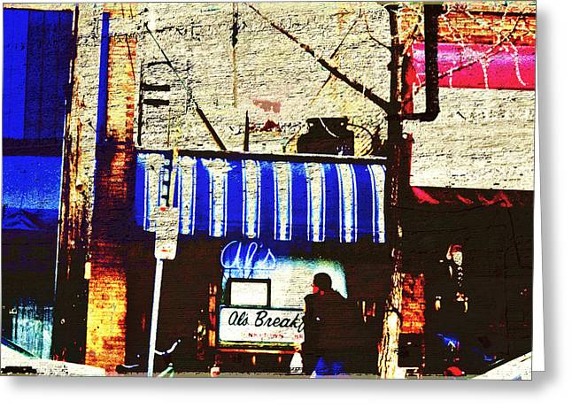 Minnesota Photo Greeting Cards - Als Breakfast and U of M Greeting Card by Susan Stone