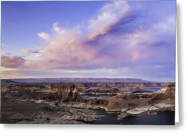 Lessons Greeting Cards - Alstrom Point Overlook Greeting Card by Cusi Taylor