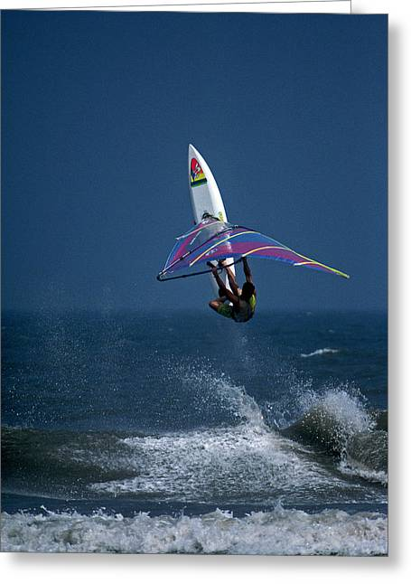 Surf Photos Art Greeting Cards - Alt Delete  Greeting Card by Skip Willits
