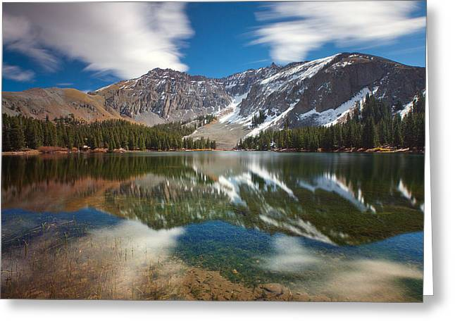 Alta Lakes Greeting Card by Darren  White