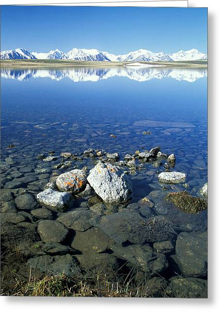 Wide Open Space Greeting Cards - Altai Greeting Card by Anonymous