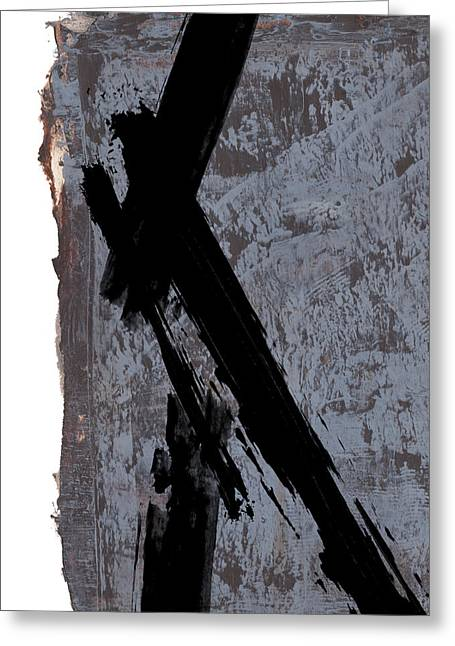 Alternative Edge I Greeting Card by Paul Davenport