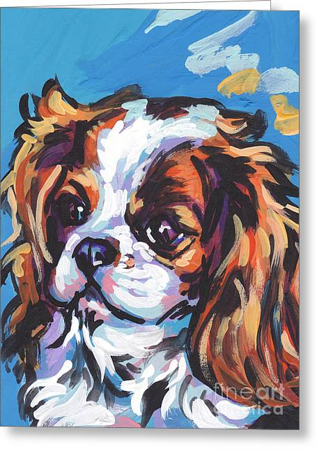 Always Cavalier Greeting Card by Lea S