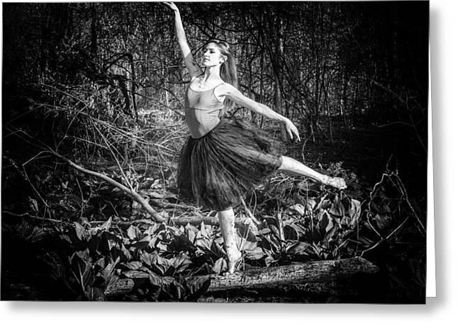 Ballet Dancers Photographs Greeting Cards - Always Dancing Greeting Card by Ryan Crane