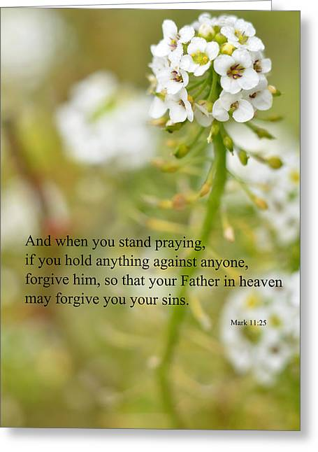 Forgiveness Greeting Cards - Always forgive Greeting Card by J L