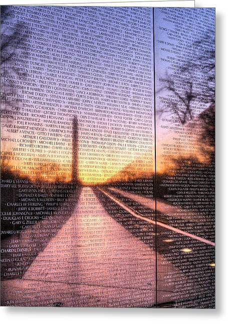 District Of Columbia Greeting Cards - Always Remembered  Greeting Card by JC Findley