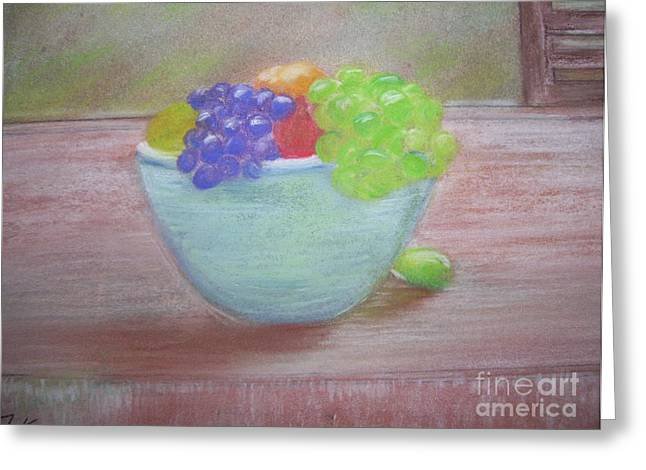 Fineart Pastels Greeting Cards - Always Serving Greeting Card by Tammy Rainey