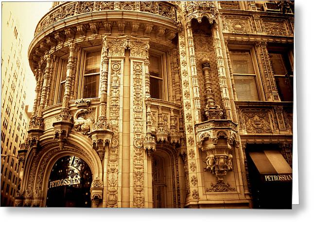 Jessica Photographs Greeting Cards - Alwyn Court Architecture Greeting Card by Jessica Jenney