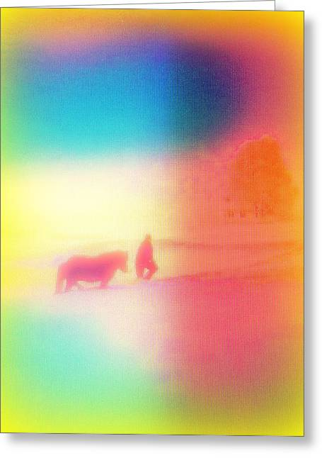 Oxytocin Greeting Cards - am I dreaming Greeting Card by Hilde Widerberg