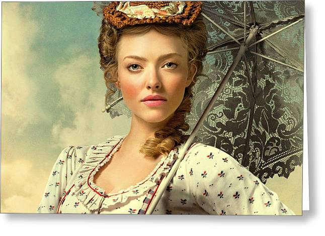 Amanda Seyfried A Million Ways To Die In The West  Greeting Card by Movie Poster Prints