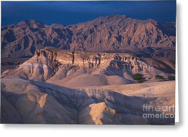 Uncrowded Greeting Cards - Amargosa Mountains Greeting Card by Chris Selby