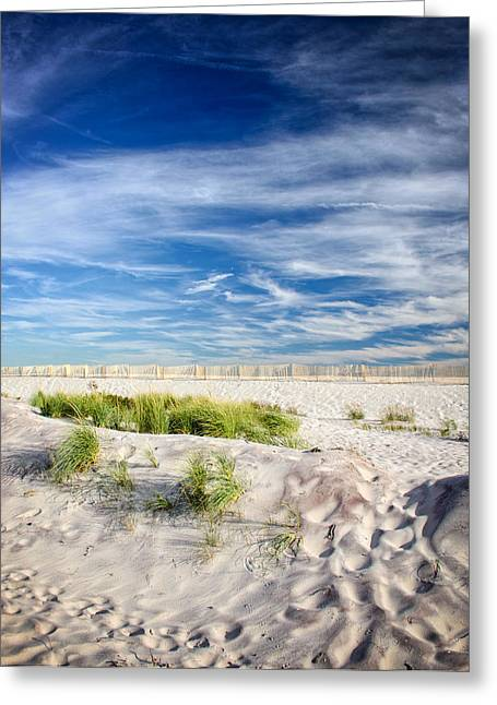 Babylon Greeting Cards - Amazing Beach Scene Greeting Card by Vicki Jauron
