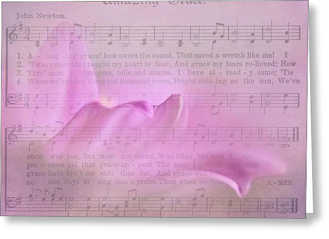 Forgiveness Photographs Greeting Cards - Amazing Grace Greeting Card by David and Carol Kelly