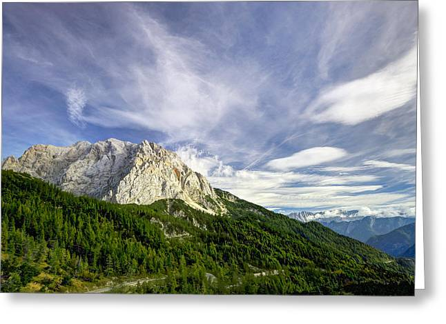 Gora Greeting Cards - Amazing mountain view Greeting Card by Ivan Slosar