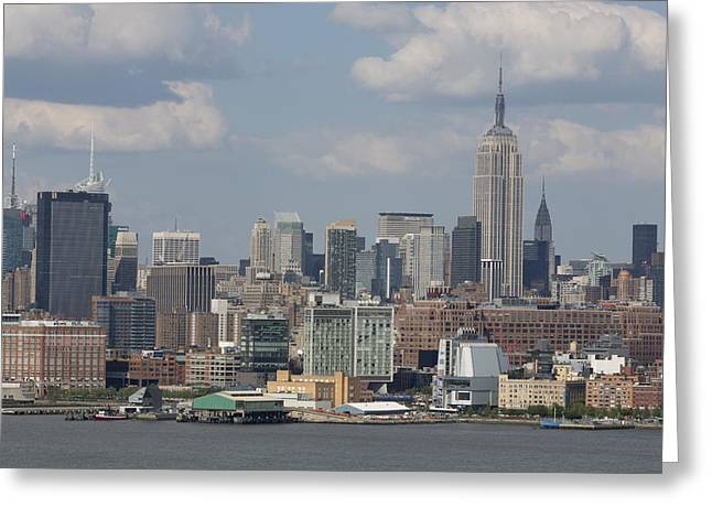 Citites Greeting Cards - Amazing view of nyc Greeting Card by D Plinth