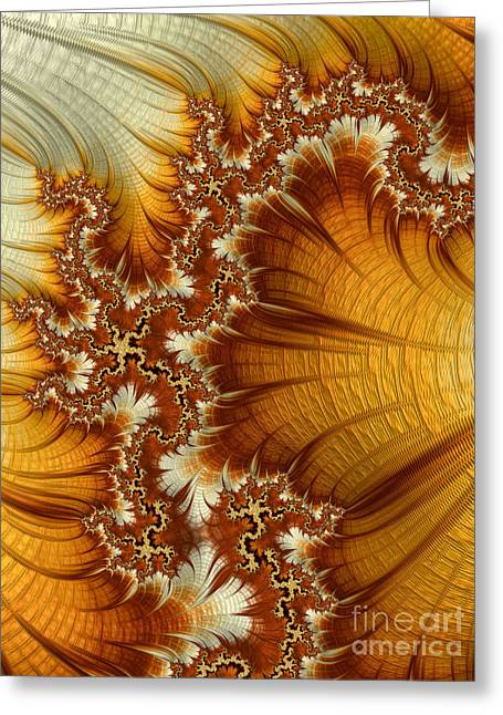 Brulee Greeting Cards - Amber  Greeting Card by Heidi Smith