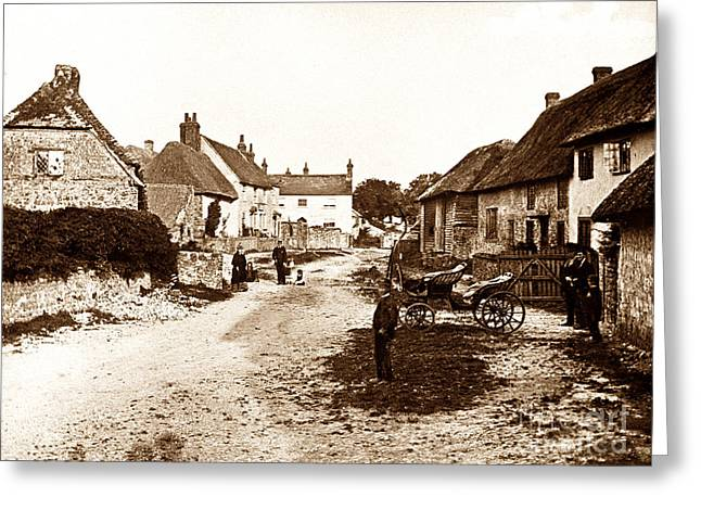Amberley England Greeting Card by The Keasbury-Gordon Photograph Archive