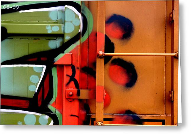 Paint Photograph Greeting Cards - Amelia Island Railcar #1 Greeting Card by Ross Lewis