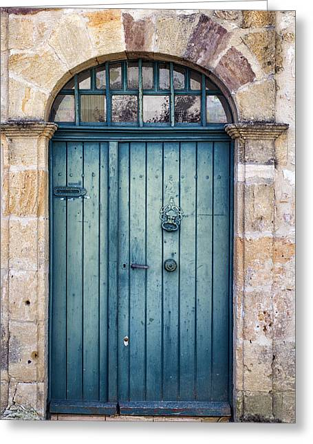 Recently Sold -  - Intrigue Greeting Cards - Amelias Door Greeting Card by Nomad Art And  Design