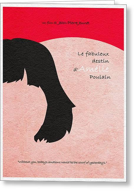 Destin Greeting Cards - Amelie Greeting Card by Ayse Deniz