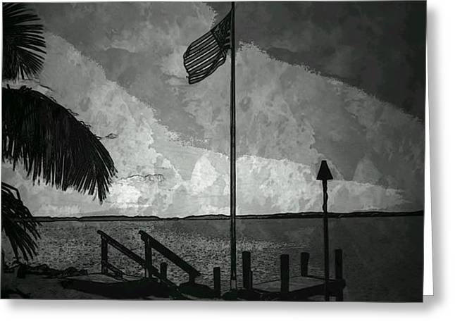America all the Way 5 Greeting Card by Rene Triay Photography