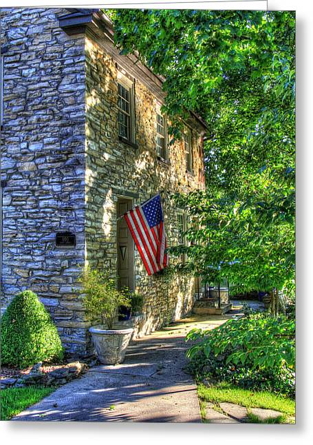 Boiling Greeting Cards - America You are Beautiful Greeting Card by Sharon Batdorf