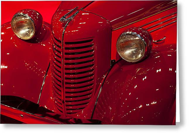 American Automobiles Greeting Cards - American Bantam Roaster Greeting Card by Garry Gay
