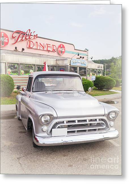 Classic Pickup Truck Greeting Cards - American Classics Greeting Card by Edward Fielding
