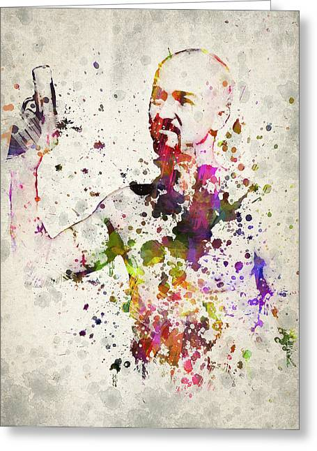 American Actor Greeting Cards - American History X Greeting Card by Aged Pixel