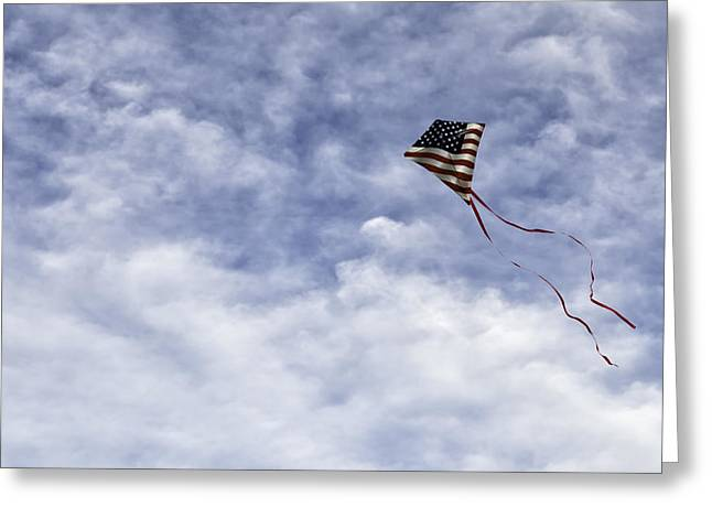 Kite Greeting Cards -  The skys the limit Greeting Card by Carter Jones