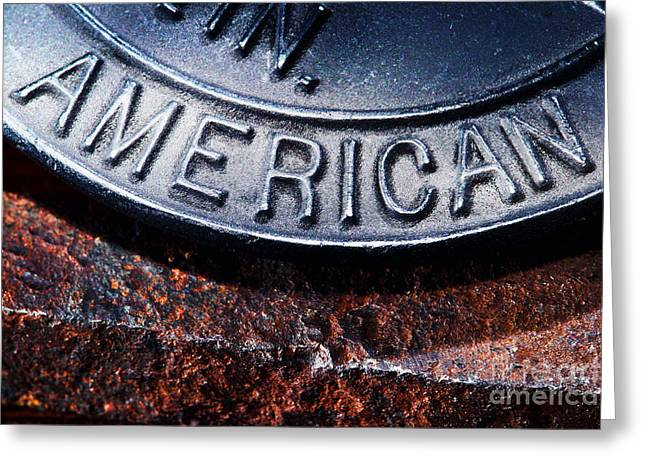 American Photographs Greeting Cards - American Greeting Card by Olivier Le Queinec
