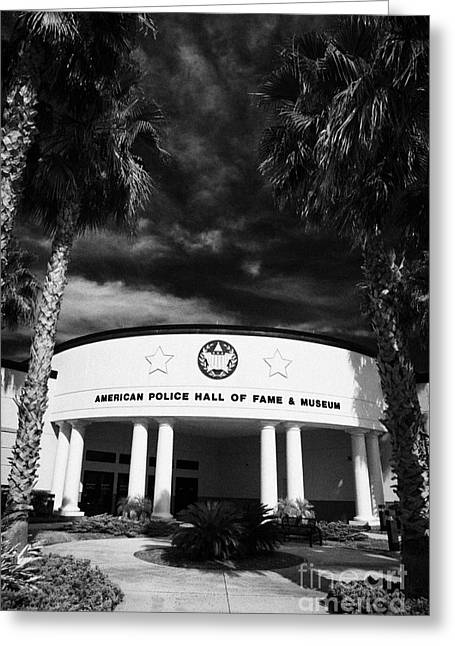 american police hall of fame and museum Florida USA Greeting Card by Joe Fox