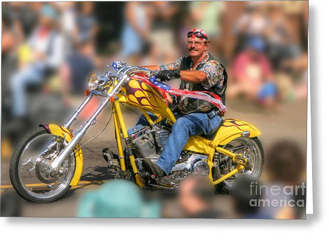 Maui Greeting Cards - American Pride Greeting Card by Andy Jackson