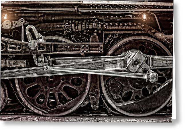Top Seller Greeting Cards - American Steel Greeting Card by Ken Smith