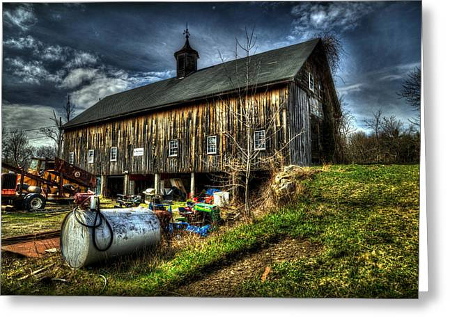 Hdr Landscape Greeting Cards - Americana 1 Greeting Card by Craig Incardone