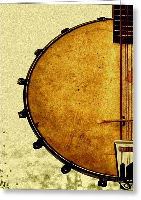 Music Time Greeting Cards - Americana Music Greeting Card by Bill Cannon