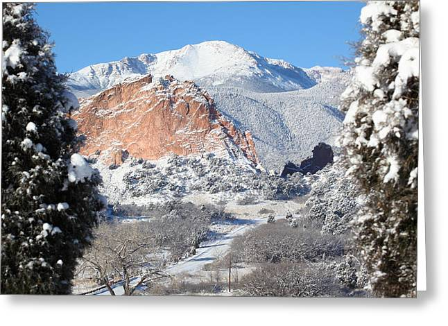 America The Beautiful Greeting Cards - Americas Mountain Greeting Card by Eric Glaser