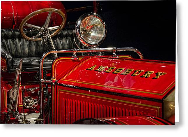 Amesbury Greeting Cards - Amesbury Engine Greeting Card by Paul Spears