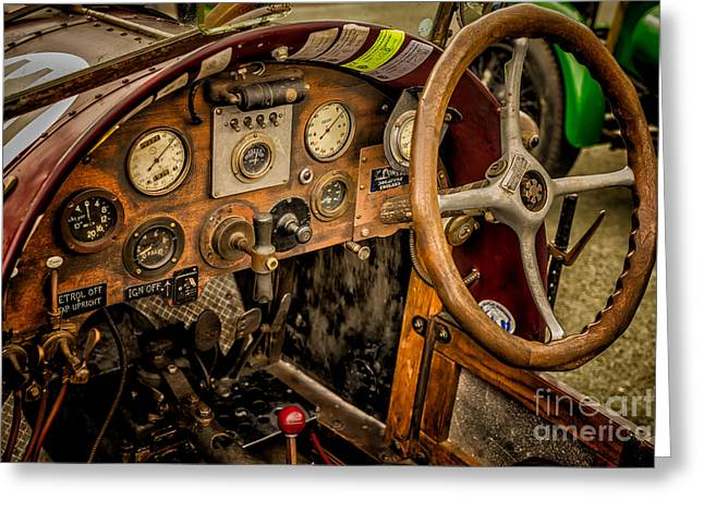 Clock Greeting Cards - Amilcar Riley Special  Greeting Card by Adrian Evans