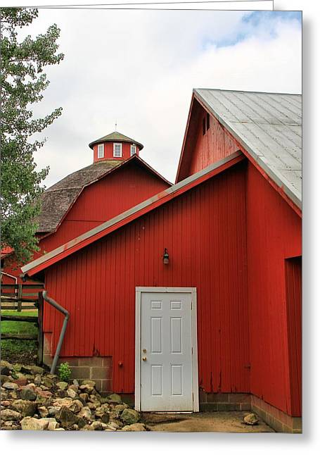 Amish Farm Greeting Cards - Amish Acres Nappanee Indiana Greeting Card by Dan Sproul