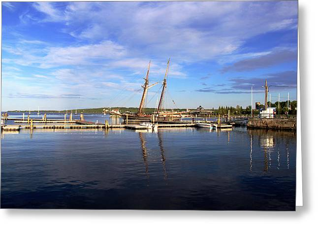 Coastal Maine Greeting Cards - Amistad Greeting Card by Becca Brann