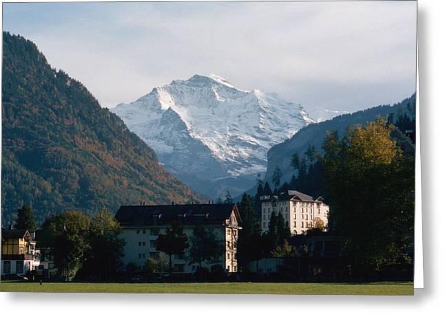Among Mountains Greeting Card by Marcio Faustino