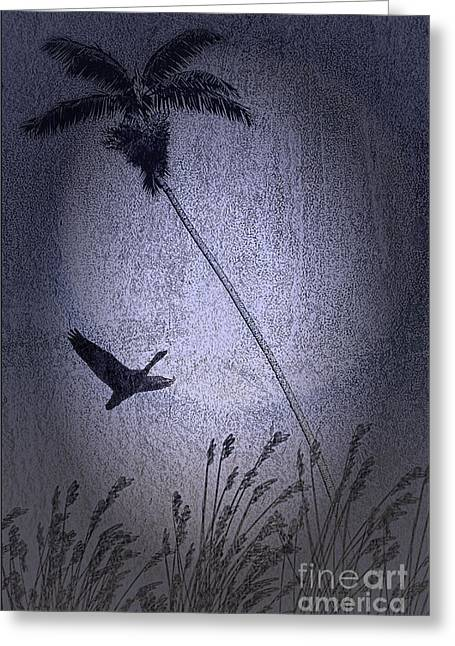 Best Selling Bird Art Greeting Cards - Among The Palms Greeting Card by Tom York Images