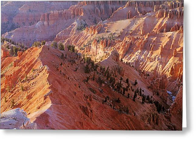 Amphitheater, Cedar Breaks National Greeting Card by Panoramic Images