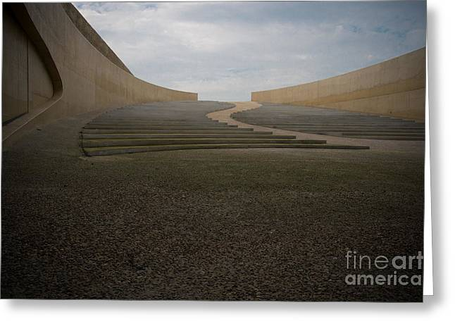 Open Air Theater Photographs Greeting Cards - Amphitheatre Greeting Card by Brothers Beerens