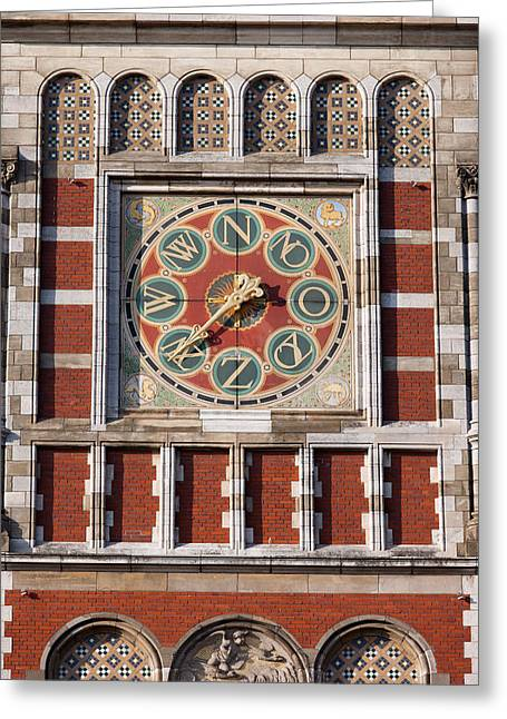 Wind Direction Greeting Cards - Amsterdam Central Train Station Weather Vane Greeting Card by Artur Bogacki