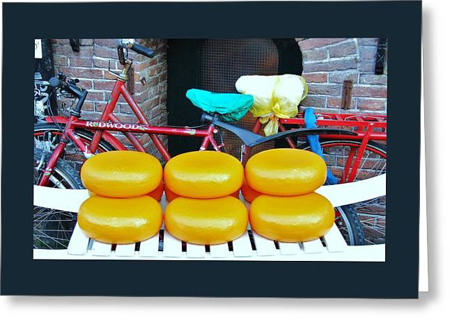 Healthy Greeting Cards - Amsterdam Icons Greeting Card by Allen Beatty