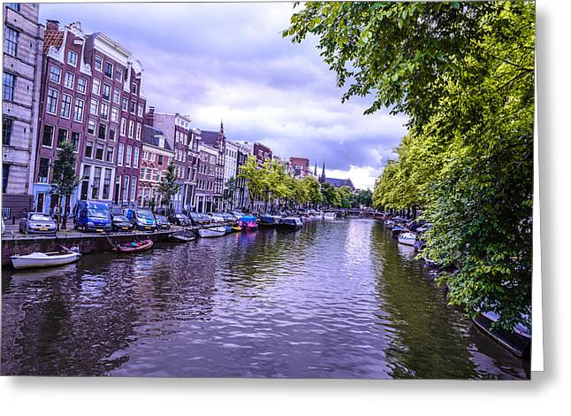Redlight Greeting Cards - Amsterdam is Beautiful Greeting Card by Xe Ale